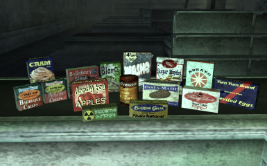 majormodder s dirty food and misc items