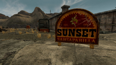 Sunset Sass HQ Sign