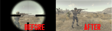 Scope Texture Removal