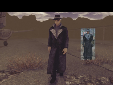 Fallout 4 Silver Shroud Outfit