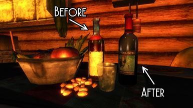 Wine Bottle Retexture