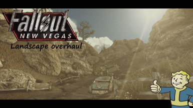 New Vegas Landscape Overhaul Remastered