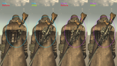 Ranger armors and Riot Gear clipping weapons bug and posture fixed