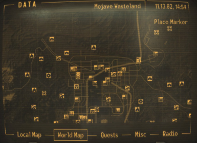 No player marker or cursor on maps at Fallout New Vegas - mods and ...