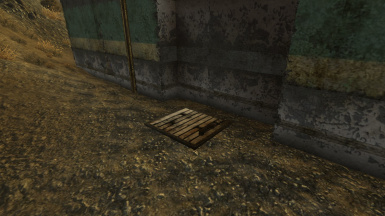 Trap Door to enter the mod