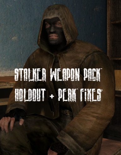 STALKER Weapon Pack Holdout-Grunt-Shotgun Surgeon Fix