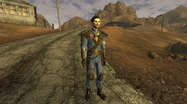 Armored Vault 21 jumpsuit with all pieces