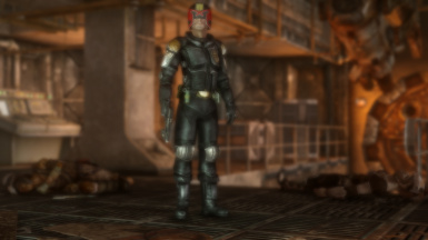 Mega-City One Judge Armor and Weapons NV