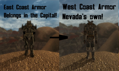 Enclave Armor Fix