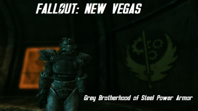 Grey Brotherhood Power Armor