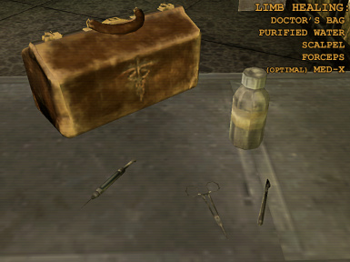 FNV DD healing requirements