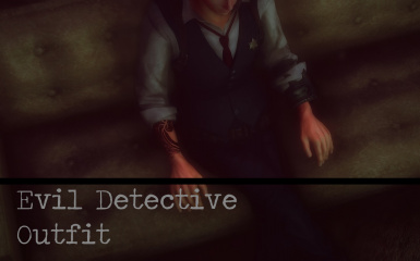 Evil Detective Outfit For Males