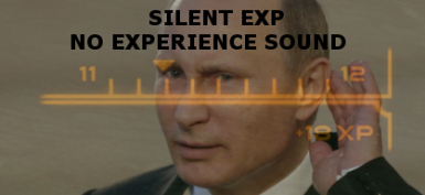 Silent EXP - No Experience Sound