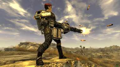 Minigun long wind-up (spin-up) restoration and aiming fix