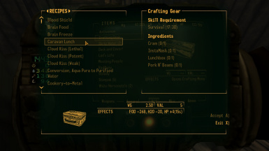 Crafting Gear - Craft items by hand anywhere