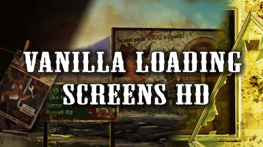 Vanilla Loading Screens HD