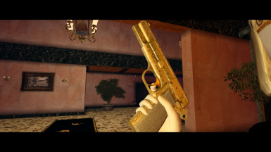 Golden Ultra-Luxe Pistol