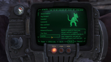 Perk in Pipboy