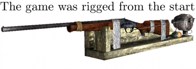 Rigged Shotgun Fix - The Game Was Rigged From the Start