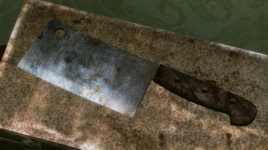 Cleaver and Chopper Retexture