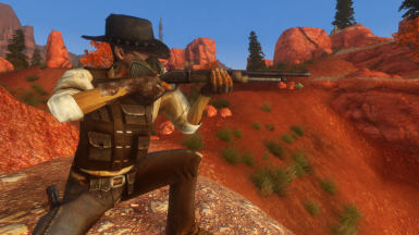 Sturdy Lever Action Shotgun