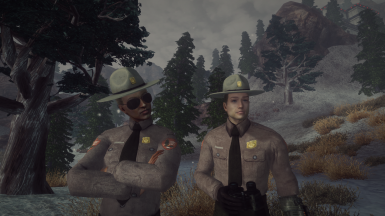 US Park Ranger Uniform