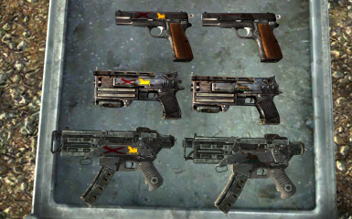 Faction Branded Weapons