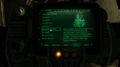 Classic Fallout Mysterious Stranger