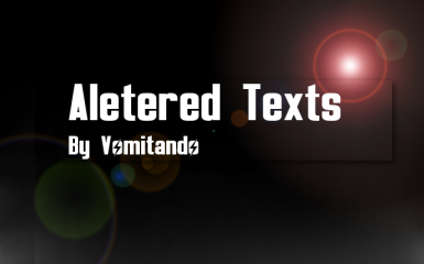 Altered Texts
