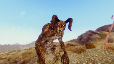 Talking Deathclaw Companion