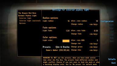 Dynamic Pipboy Light
