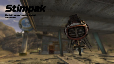 Stimpak - The Fully Voiced Eyebot Companion