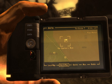 Pipboy Google Maps at Fallout New Vegas - mods and community