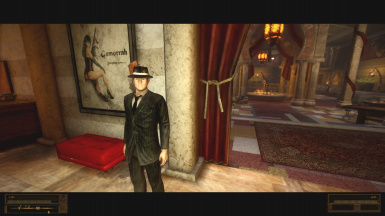 New Omerta suit and Tommy gun