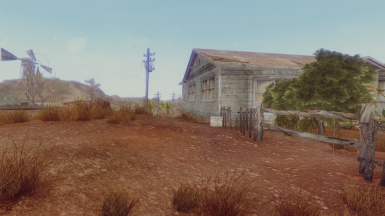 Location - doc mitchell's house