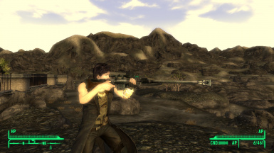 My save file Mirx stealth sniper character