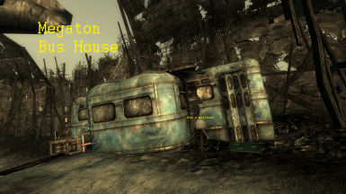 Megaton Bus House - TTW Edtion