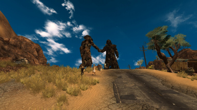 Image of: Stock Of Nexus Mods The Living Desert Travelers Patrols Consequences Increased