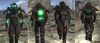 Scorched sierra power armor without bear
