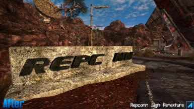 Repconn Sign Retexture