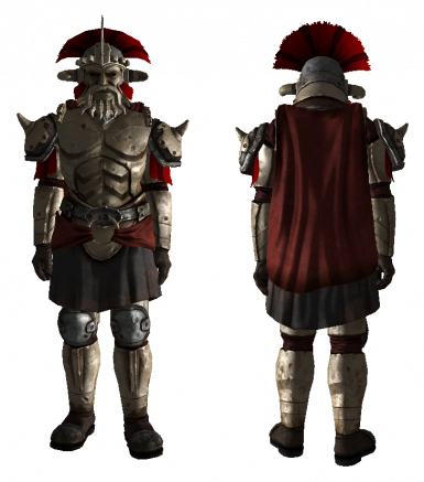Legate Armor and Face Masks playable
