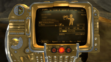 PipBoy Stats
