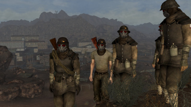 NCR Troopers with Gasmasks