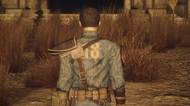 Fallout New California - Vault 18 Armored Jumpsuit