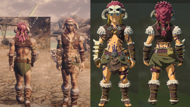 Barbarian Armor from ZELDA Breath of the Wild at Fallout New Vegas