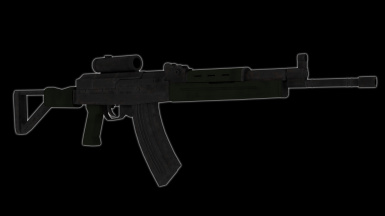 Chinese assault rifle - Type 87 - 1 Experimental