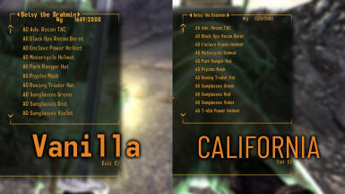 CALIFORNIA Fonts for Vanilla at Fallout New Vegas - mods and