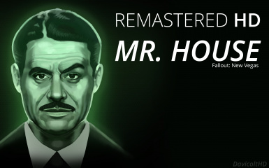 Remastered HD Mr. House Lucky 38