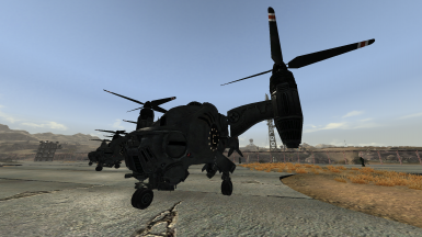 Reoty's Concept Enclave Vertibird Corps Retexture for New Vegas