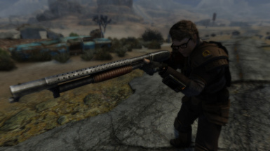 Winchester Model 12 Trench Gun at Fallout New Vegas - mods